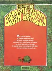Verso de La drôle de vie de Bibow Bradley - La Drôle de vie de Bibow Bradley