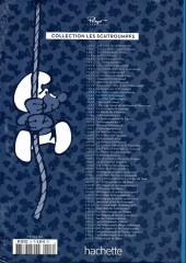 Verso de Les schtroumpfs - La collection (Hachette) -16- Le bébé schtroumpf