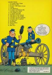 Verso de Les tuniques Bleues -19- Le David