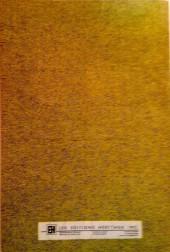 Verso de L'album du collectionneur (Éditions Héritage) -REC2058- Kung Fu