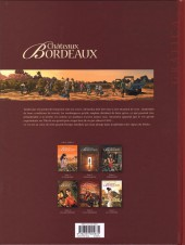 Verso de Châteaux Bordeaux -7- Les vendanges