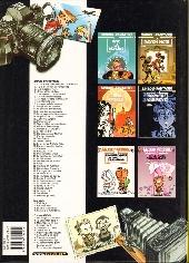 Verso de Spirou et Fantasio -HS03- La Voix sans maître (et 5 autres aventures)