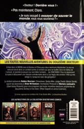 Verso de Doctor Who - Les nouvelles aventures du douzième docteur -2- Fractures
