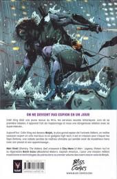 Verso de Ninjak -1A- L'Armurerie