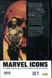 Verso de Punisher (Marvel Icons) -1- Tome 1