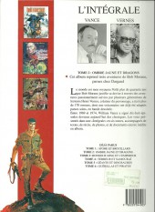 Verso de Bob Morane 8 (Intégrale Dargaud-Lombard) -2a91- Ombre jaune et dragons