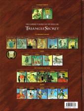 Verso de Le triangle secret - Lacrima Christi -2- À l'aube de l'Apocalypse