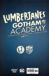Verso de Lumberjanes/Gotham Academy (2016) -3- Lumberjanes / Gotham Academy Part 3 of 6