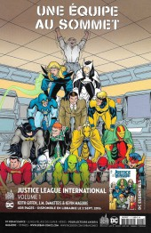 Verso de Justice League Univers -7- Numéro 7