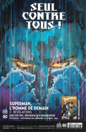 Verso de Superman Univers -7- Numéro 7