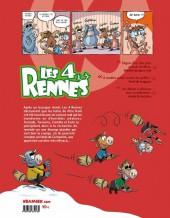 Verso de Les 4 Rennes -2- Horreur Boréale