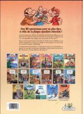 Verso de Les fondus -15- Les fondus du chocolat