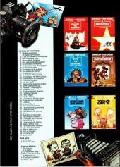 Verso de Spirou et Fantasio -39Pub2- Spirou et fantasio a new york