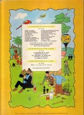 Verso de Jo, Zette et Jocko (Les Aventures de) -5B35bis- La vallée des cobras