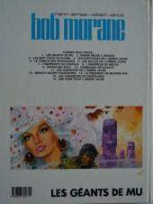 Verso de Bob Morane 3 (Lombard) -20b1984- Les géants de Mu