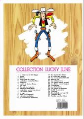 Verso de Lucky Luke -1e12- La Mine d'or de Dick Digger