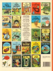 Verso de Tintin (Historique) -6C6bis- L'oreille cassée