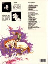 Verso de Comanche -8a1983- Les shériffs