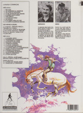 Verso de Comanche -7c1993- Le doigt du diable