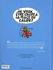 Verso de Iznogoud -INT3- 6 histoires de Jean Tabary de 1990 à 2004
