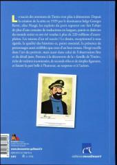 Verso de (AUT) Hergé - Hergé, Tintin et compagnie
