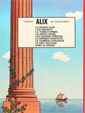 Verso de Alix -10- Iorix le grand