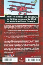 Verso de Red Baron: The Graphic History of Richthofen's Flying Circus and the Air War in WWI (2014) - he Red Baron: The Graphic History of Richthofen's Flying Circus and the Air War in WWI