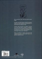 Verso de (AUT) Hergé - Grand palais - Hergé, l'exposition de papier