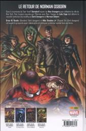 Verso de The new Avengers (Marvel Deluxe - 2015) -2- New Avengers vs Dark Avengers