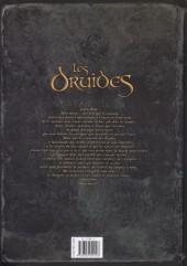 Verso de Les druides -9- Le Temps des corbeaux
