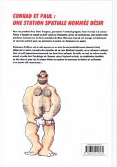 Verso de Conrad et Paul -6- Une station spatiale nommée Désir