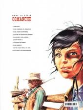 Verso de Comanche -2e2016- Les Guerriers du désespoir