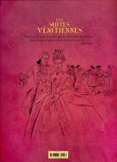 Verso de Les suites Vénitiennes -INT01- Les suites vénitiennes - Intégrale 1