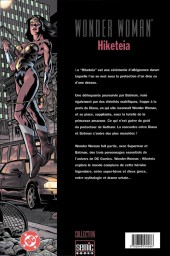 Verso de Wonder Woman - Hiketeia