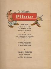 Verso de Tanguy et Laverdure -4'- L'escadrille des cigognes