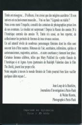 Verso de Tintin - Divers - Tintin & les filles