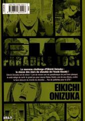 Verso de GTO - Paradise Lost -4- Vol. 4