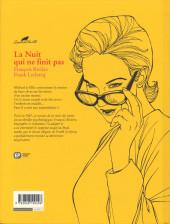 Verso de Agatha Christie (Emmanuel Proust Éditions) -6- La Nuit qui ne finit pas