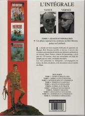 Verso de Bob Morane 8 (Intégrale Dargaud-Lombard) -5a03- Géants et dinosaures