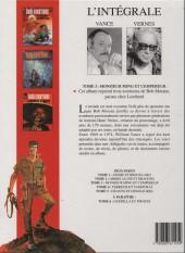 Verso de Bob Morane 8 (Intégrale Dargaud-Lombard) -3a98- Monsieur ming et l'empereur