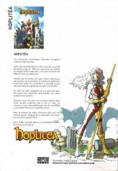 Verso de Hoplitea - Tome INT1