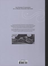 Verso de Les grands Classiques de la Bande Dessinée érotique - La Collection -143- Le Déclic - Tome 3