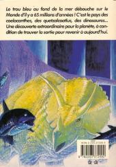 Verso de Le trou bleu -1- Le trou bleu 1