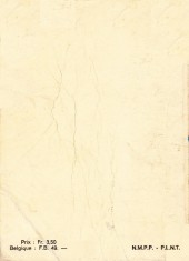 Verso de Strange -Rec003- Album N°3 (du n°8 au n°10)
