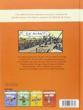 Verso de L'histoire de France en BD (Joly/Heitz) -7- 1914-1918... La Grande Guerre