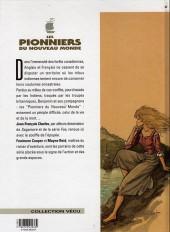 Verso de Les pionniers du Nouveau Monde -2c1999- Le grand dérangement