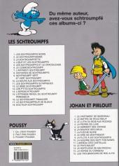 Verso de Les schtroumpfs -5c05- Les schtroumpfs et le cracoucass