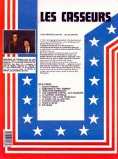 Verso de Les casseurs - Al & Brock -4a1985- Les casseurs contre...les casseurs