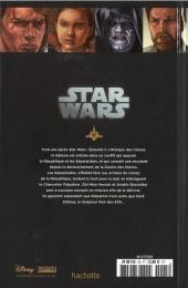 Verso de Star Wars - Légendes - La Collection (Hachette) -2542- Episode III - La Revanche des Sith