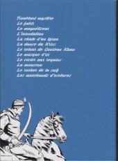 Verso de Le cavalier inconnu (Intégrale) -INT2- Volume 2